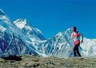 Sergio Rozzi corre sull'Everest